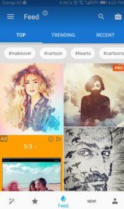 برنامج تحويل الصور إلى رسم بالرصاص للاندرويد