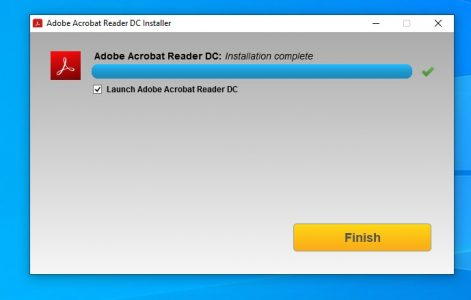تحميل برنامج Adobe Acrobat Reader DC