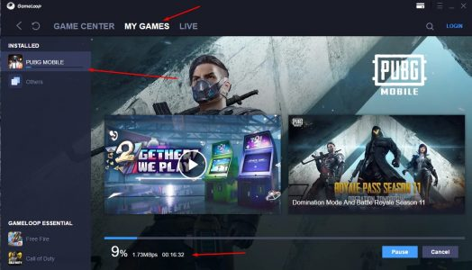 تحميل لعبة ببجي للكمبيوتر بدون محاكي