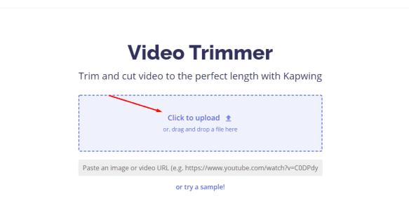تعديل وقص الفيديو اون لاين