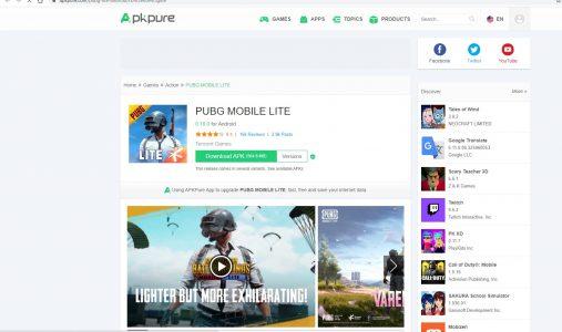 شرح موقع ApkPure