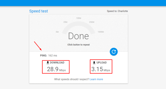شرح موقع Google Fiber Speed Test