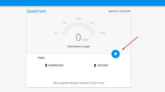 قياس سرعة النت الحقيقية جوجل