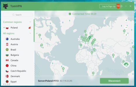 كيفية استخدام برنامج TomVPN لفتح المواقع المحجوبة