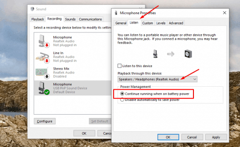 أداة Windows Audio Troubleshooter