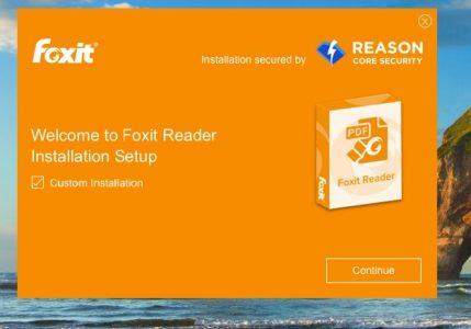 تحميل برنامج Foxit Reader