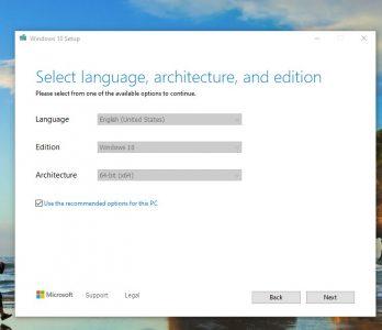 تحميل ويندوز 10 اخر اصدار 2020 من مايكروسوفت