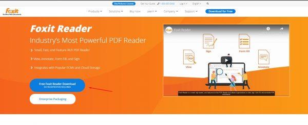 تنزيل برنامج Foxit Reader