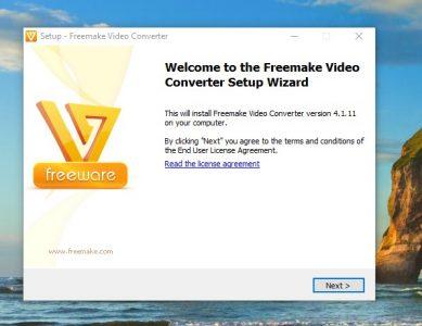 كيفية تثبيت برنامج Free Make Video Converter