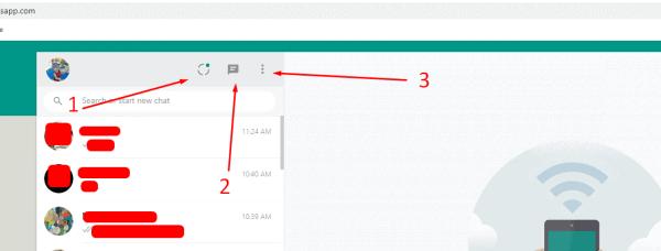 كيف اشبك الواتس اب على الكمبيوتر