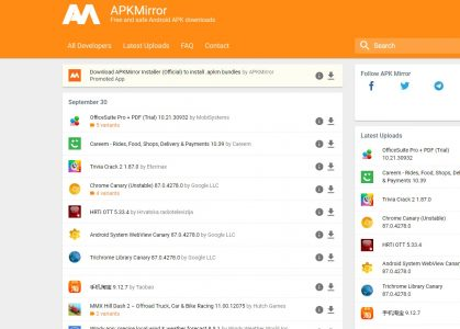 موقع تنزيل تطبيقات APK