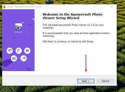 شرح كيفية استخدام برنامج apowersoft photo viewer