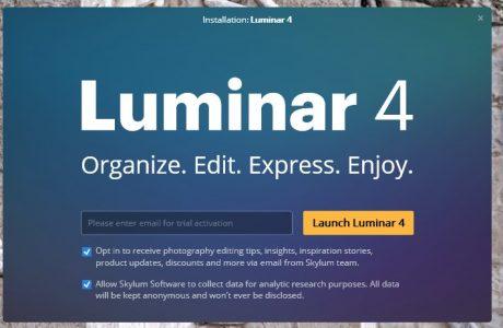 شرح كيفية تحميل برنامج Luminar 4
