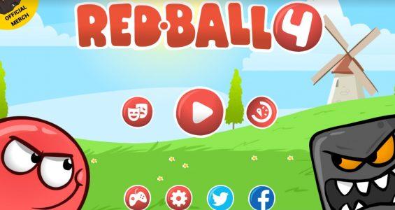 لعبة الكرة الحمراء