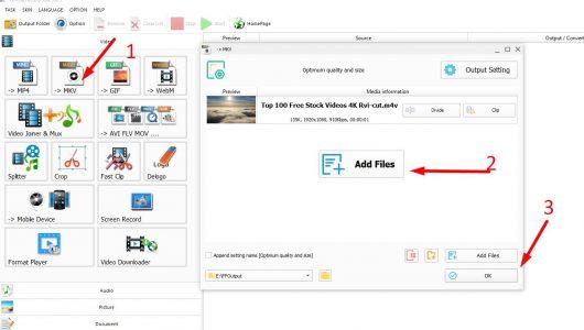 تحميل برنامج تحويل صيغ الفيديو من MKV إلى MP4