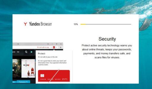 تعريب متصفح Yandex