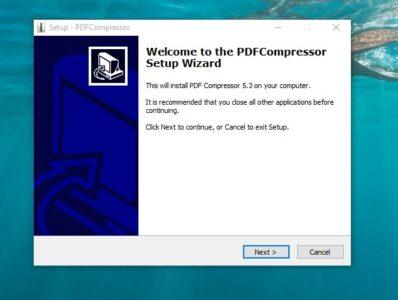 تحميل برنامج PDF Compressor 2021