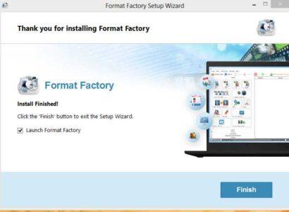 شرح كيفية استخدام برنامج فورمات فاكتوري