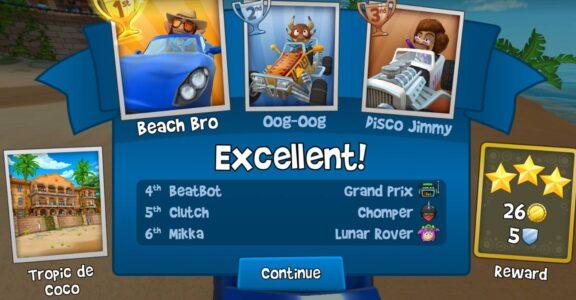 تحميل لعبة Beach Buggy Racing مهكرة