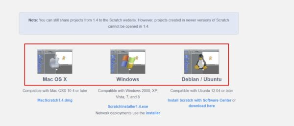 كيفية تحميل برنامج سكراتش للكمبيوتر