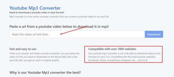 برنامج تحويل فيديو فيسبوك الى MP3
