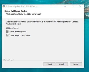 تحميل برنامج Software Update
